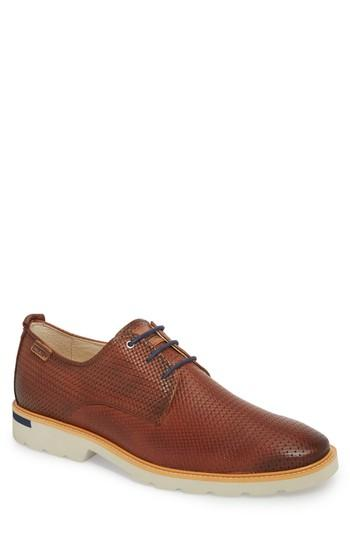 Men's Pikolinos Salou Plain Toe Oxford .5-6us / 39eu - Brown