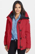 Women's Canada Goose 'rideau' Slim Fit Down Parka - Red