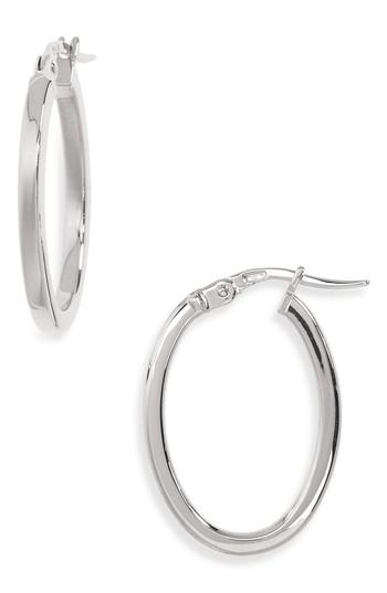Women's Roberto Coin Medium Hoop Earrings