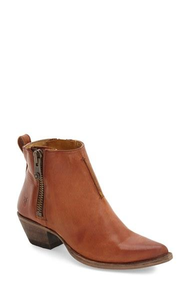 Women's Frye 'sacha' Washed Leather Ankle Boot
