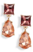 Women's Halogen Princess Double Drop Earrings