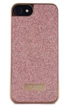 Ted Baker London Sparkles Iphone 6/6s/7/8 & 6/6s/7/8 Case - Pink