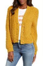 Women's Bp. Fluffy Cardigan, Size - Brown