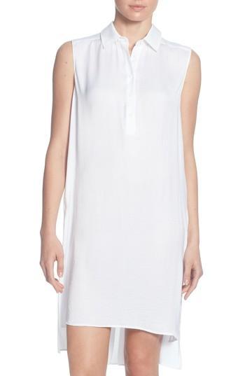 Women's Catherine Catherine Malandrino Stella High/low Tunic Top - White