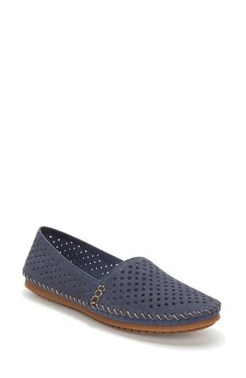 Women's Adam Tucker Surf Perforated Loafer .5 M - Blue