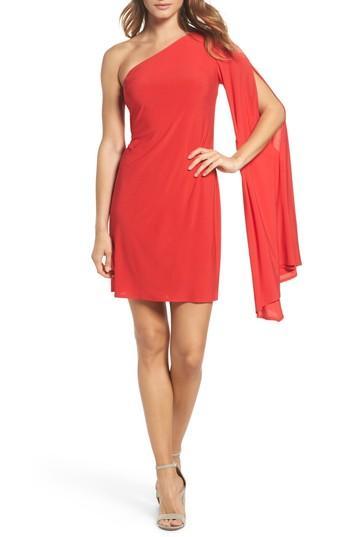 Women's Trina Trina Turk Musa One-shoulder Dress - Red