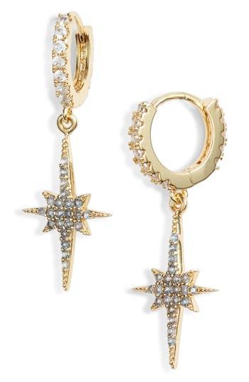 Women's Lulu Dk Northern Star Huggie Earrings