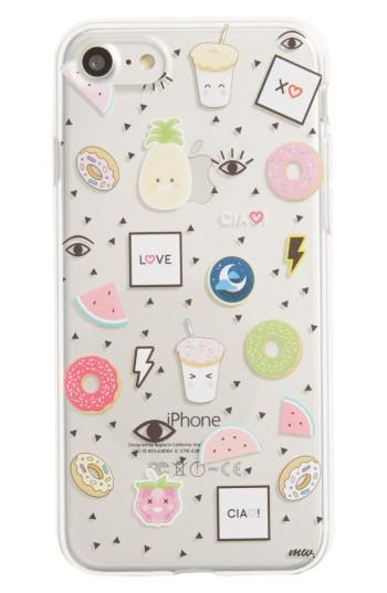 Milkyway Patches Iphone 7 Case - None