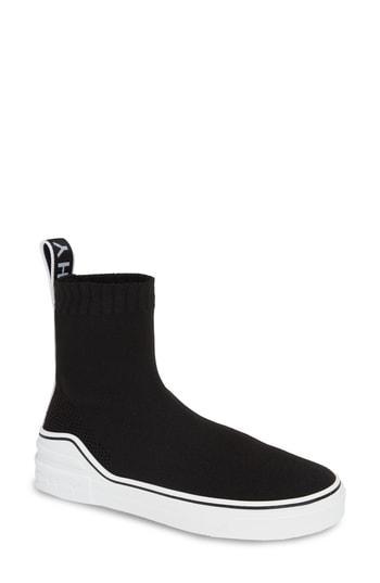Women's Givenchy George V Hi Sock Sneaker Us / 39eu - Black