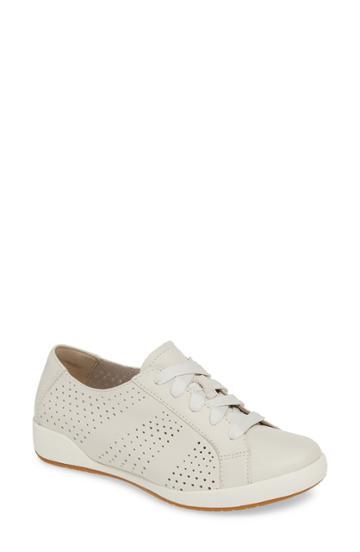 Women's Dansko Orli Sneaker .5-12us / 42eu - Ivory