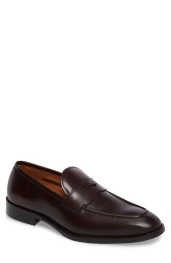 Men's Vince Camuto Hoth Penny Loafer .5 M - Brown