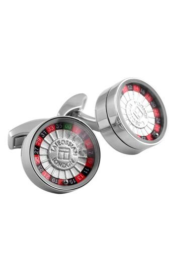 Men's Tateossian Roulette Cuff Links