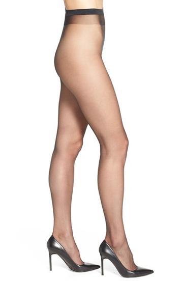 Women's Wolford Naked 8 Pantyhose - Black
