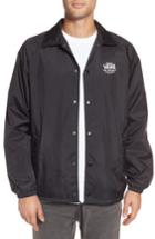 Men's Vans Torrey Water Resistant Jacket, Size - Black