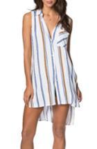 Women's O'neill Maryana Stripe Tunic - White