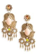 Women's Loren Hope Ivy Crystal Chandelier Earrings