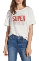 Women's Rebecca Minkoff Superwoman Delaney Tee, Size - White