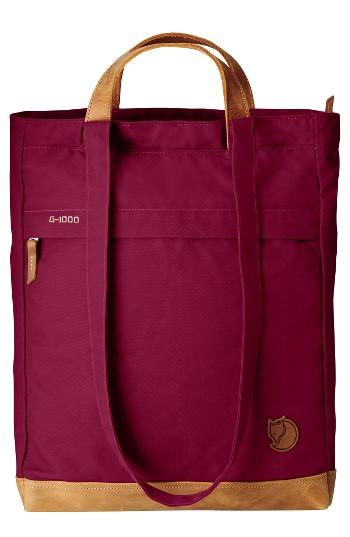Fjallraven Totepack No.2 Water Resistant Tote - Pink