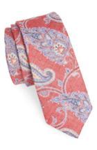 Men's Nordstrom Men's Shop Bradford Paisley Skinny Tie