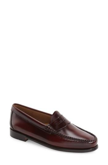 Women's G.h. Bass & Co. 'whitney' Loafer W - Red