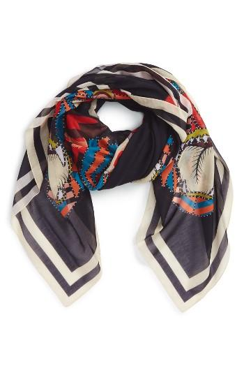 Women's Givenchy 4 Imperial Rottweiler Square Scarf