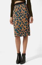 Women's Topshop Leopard Print Tube Skirt