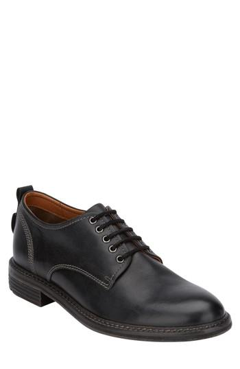 Men's G.h. Bass Hanson Plain Toe Derby .5 M - Black