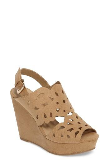 Women's Chinese Laundry In Love Wedge Sandal M - Brown