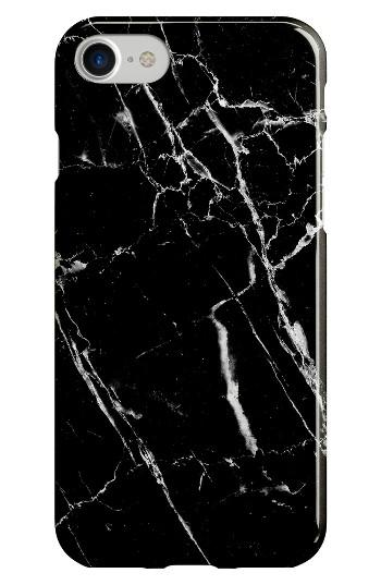Recover Black Marble Iphone 6/7 Case - Black