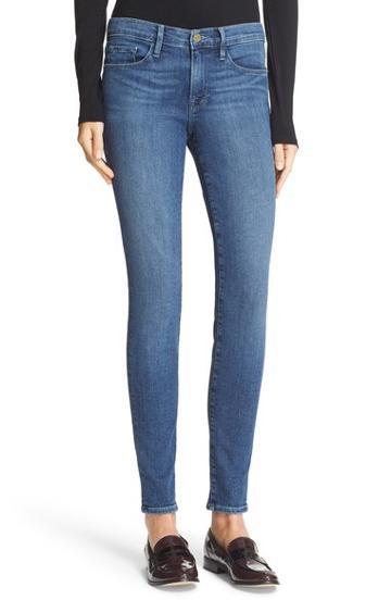 Frame 'le Skinny De Jeanne' Jeans (rivercrest)