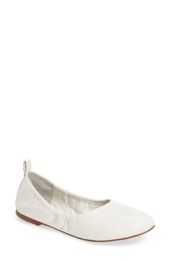 Women's 1.state Salen Ballet Flat M - White
