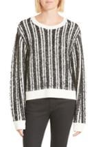 Women's Public School Nabila Stripe Sweater - Black