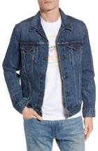 Men's Levi's Trucker Denim Jacket, Size - Blue