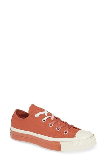 Women's Converse Chuck Taylor All Star 70 Colorblock Low Top Sneaker M - Red