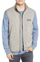 Men's Vineyard Vines Fleece Vest - Grey