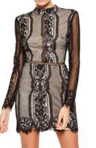 Women's Missguided Open Back Lace Dress