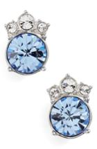 Women's Givenchy Crystal Button Earrings