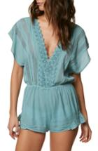 Women's O'neill Shay Romper Cover-up - Blue