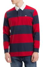 Men's Tommy Jeans Tjm Tommy Classics Rugby Shirt - Blue