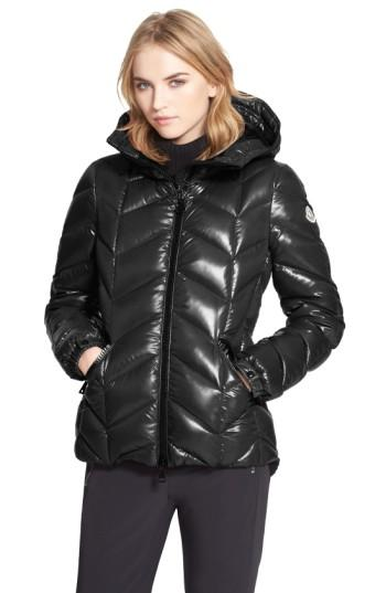 Women's Moncler 'badete' Hooded Down Puffer Coat