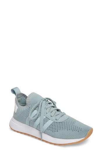 Women's Adidas Flashback Primeknit Sneaker .5 M - Green