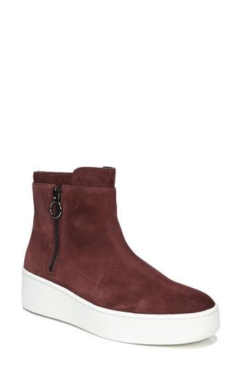 Women's Via Spiga Easton High Top Sneaker M - Brown