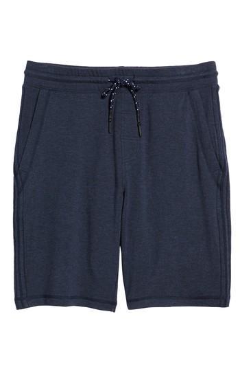 Men's Surfside Supply Brushback Fleece Shorts, Size - Blue