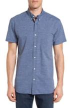 Men's Billy Reid Tuscumbia Sport Shirt - Blue