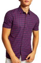Men's Topman Gingham Shirt