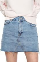 Women's Topshop Denim Miniskirt