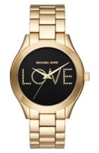 Women's Michael Kors Slim Runway Love Bracelet Watch, 42mm
