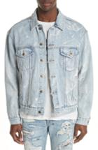 Men's Ksubi Oh G Electric Marble Denim Jacket