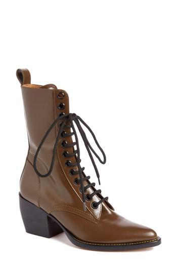 Women's Chloe Rylee Lace-up Boot .5us / 35.5eu - Brown