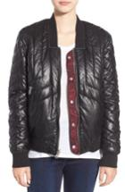 Women's Blanknyc Reversible Quilted Jacket - Red